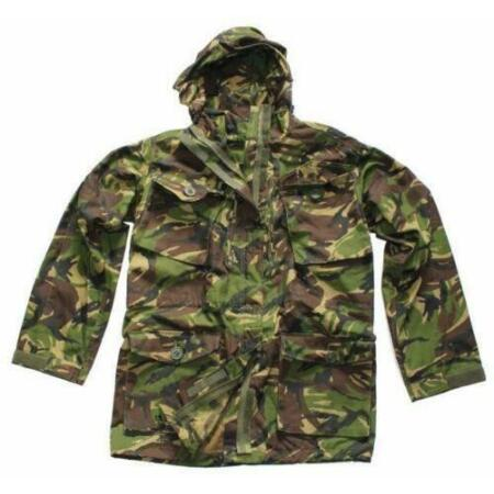 img-British Army Issue Smock Combat Windproof Woodland DPM Hooded Jacket Many Sizes