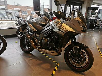 TRIUMPH TIGER SPORT 1050 2016 16 FSH SC PROJECTS EXHAUST! STUNNING