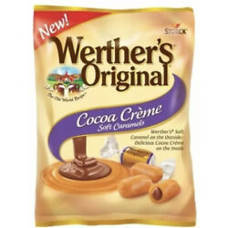 Werther's Original ''COCOA CREME'' IndivIdually Wrap Soft Caramels