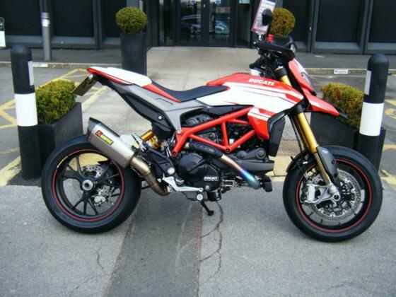 DUCATI HYPERMOTARD 939SP - 2018-18 - FULL AKRAPOVIC RACE SYSTEM
