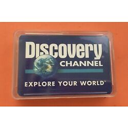 Kyпить Discovery Channel Deck of Playing Cards Explore Your World NEW на еВаy.соm