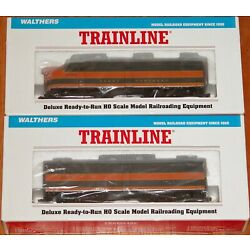WALTHERS TRAINLINE 931-235 931-275 ALCO FA-1 FB-1 GREAT NORTHERN # 279A 279B