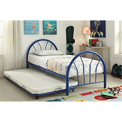 ACME Cailyn Trundle (Twin), Blue Contemporary/Casual Blue