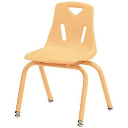 Jonti-Craft Berries Stacking Chair With Powder-coated Legs 16 In. HT Camel