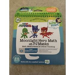 LeapStart 3D Moonlight Hero Math with PJ Masks Book Works with all Leap Systems