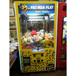 Kyпить Namco Pac-Man Play Arcade Size Claw Machine Game WORKING LOCAL PICK UP ONLY на еВаy.соm