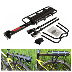 Kyпить Rear Bike Rack Cargo Rack Quick Release Alloy Carrier 110 Lb Capacity на еВаy.соm