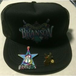 Kyпить VINTAGE Branson Country Music Capital of the World Hat Cap, Guitar Magnet & Pin на еВаy.соm