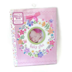 Kyпить Baby Girl's First Memory Book Pink Stepping Stones Records First 5 Years на еВаy.соm