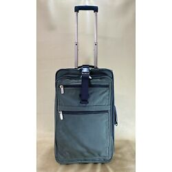 "Kyпить Kirkland Signature Green 22"" Upright Expandable Wheeled Carry On Suitcase на еВаy.соm"