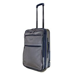 "Kyпить Kirkland Signature 22"" Upright Expandable Wheeled Carry On Suitcase Taupe Color на еВаy.соm"