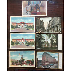 Kyпить Lot of 8 Vintage Post Cards Philadelphia, Pennsylvania Some with 1 cent Stamps  на еВаy.соm