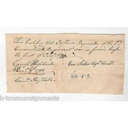 Kyпить Ezra Selden Revolutionary War Captain Autograph Signed Josh Reynolds Document на еВаy.соm