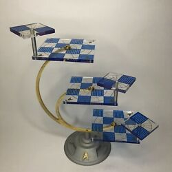 Kyпить 1994 Franklin Mint Star Trek 3D Tridimensional Chess BOARD ONLY Pre owned READ на еВаy.соm