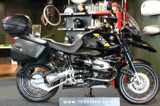 2003 BMW R 1150 GSA GS ADVENTURE LUGGAGE ONLY 23,000 MILES