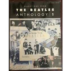 Kyпить The Beatles Anthology 1 for Piano Vocal Sheet Music Guitar Chords 27 Songs Book на еВаy.соm