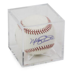 Kyпить (1) SQUARE CLEAR CUBE BASEBALL DISPLAY CASE BALL HOLDER with CRADLE на еВаy.соm