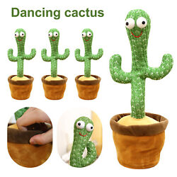Kyпить Dancing Cactus Plush Toy Electronic Shake with Song Cute Dance Succulent Lovers на еВаy.соm
