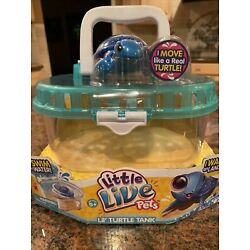 Kyпить NEW Little Live Pets Lil' Turtle Tank S1 RARE With Turtle Included на еВаy.соm