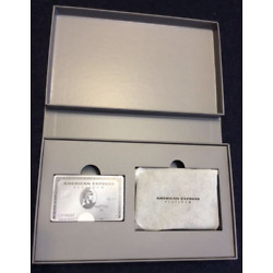 Kyпить American Express AMEX Playing Cards & Card Case Platinum Members Only  на еВаy.соm