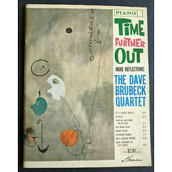 Kyпить Dave Brubeck Time Further Out Vintage Songbook Sheet Music 1962 на еВаy.соm