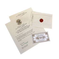 Hogwarts Wizarding School Acceptance Letter Package | Fully Customized
