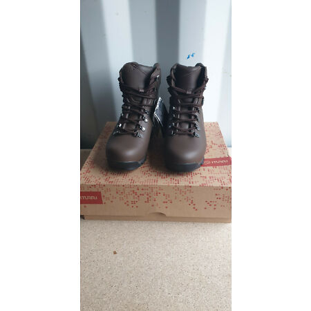 img-British Army ITURRI Brown Patrol Full Leather Boots UK Size 8 Large Brand New
