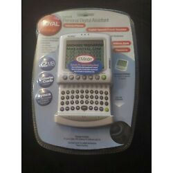 Royal Info to Go Excelsior 6 Personal Digital Assistant PDA Calendar Planner NEW