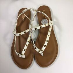 capelli of  new york sandals white  size  9