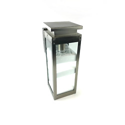 Urban Ambiance Luxury Wall Light Outdoor 19-3/8x7-7/8 in Stainless Steel #NO4762