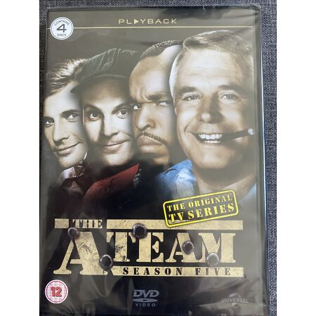 img-The A-Team: The Complete Series 5 Season Five NEW SEALED DVD