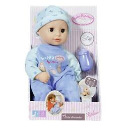 Baby Annabell Little Alexander baby boy 36cm doll from Zapf  - New