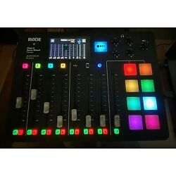 Rode RODECaster Pro Integrated Podcast Production Studio Class-A Servo Biased