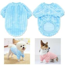 Cute Pet Clothes Soft Puppy Coats For Small Dogs Kitten Cats Warm Winter Jacket