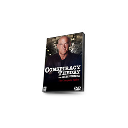 Conspiracy Theory with Jesse Ventura Complete Three Seasons (2010) DVD NEW