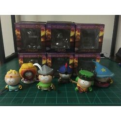 Kidrobot South Park The Stick Of Truth 3  Set Of 6 with Jimmy the Bard