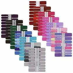 14 Sheets Solid Color Full Nail Strips Art Polish Stickers Nails Decal Strips