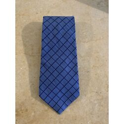 NWT BROOKS BROTHERS MAKERS BLUE SILK TIE HANDMADE IN USA WOVEN IN England NEW