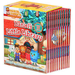 Daniel Tiger 12 Book Series Daniel's Little Library FAST FREE SHIPPING