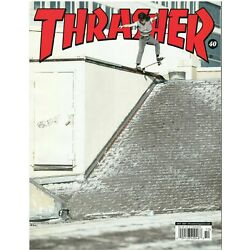 Thrasher Skateboard Magazine With Free Stickers October 2021 New