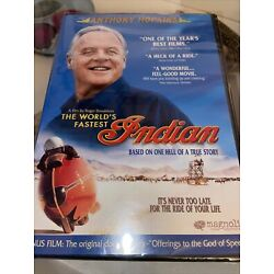 THE WORLD'S FASTEST INDIAN New Sealed DVD Anthony Hopkins