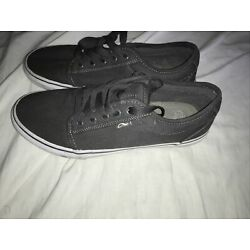 ADIO Skate Shoes US Size 9.5 EU Size 43 Color: Black - NEW OLD STOCK