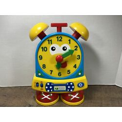 Telly The Teaching Time Clock~EDUCATIONAL~Tell Time~Game Quiz~Learning Journey