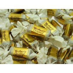 STORCK Werther's Original CHEWY Caramels {1/2 POUND BULK CANDY}
