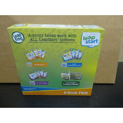 LeapFrog LeapStart 4-Book Pack (Level 1, Pre-School) Shapes Colors Animals Math
