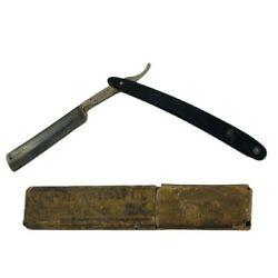 Vintage Antique Shumate Co. St. Louis U.S.A. Barber Straight Razor in Box