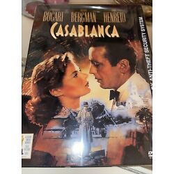 CASABLANCA DVD NEW SEALED with Warner Brothers