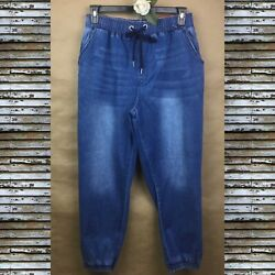 Women s ONE REPUBLIC FOR ALL Denim  Joggers HIGH Rise  Pants Jeans Size XL NWT