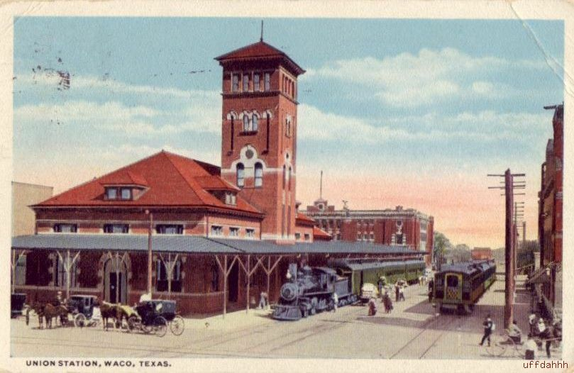 home depot waco 1917 union station waco depot railroad ebay 322