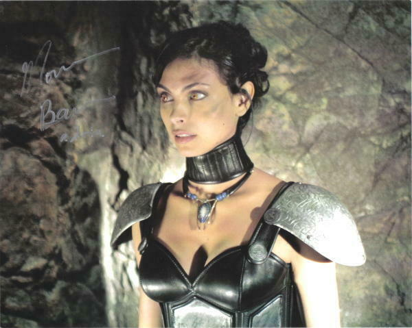 Morena Baccarin Stargate Sg-1 Adria Autographed Picture